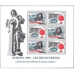 Monaco 1994. Great Discoveries
