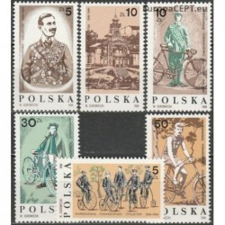 Poland 1986. Bicycles