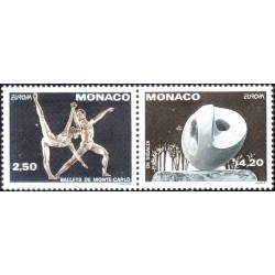 Monaco 1993. Contemporary art