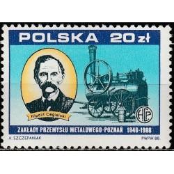 Poland 1988. Rail transport