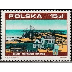 Lenkija 1988. Gdynios uostas