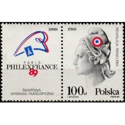 Lenkija 1989. Filatelijos...