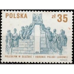 Poland 1989. Militia