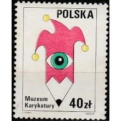 Poland 1989. Caricature museum