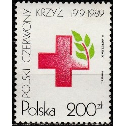 Poland 1989. Red Cross