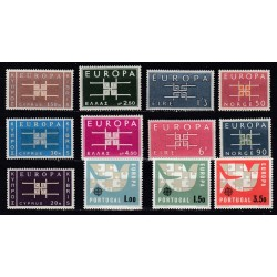 Set of stamps 1963. Europa
