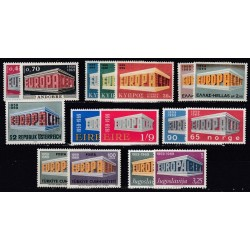 Set of stamps 1969. Europa