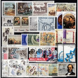 Set of stamps 1982....