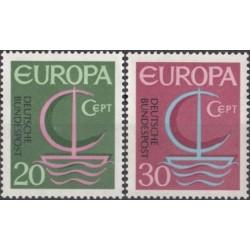 Vokietija 1966. CEPT:...