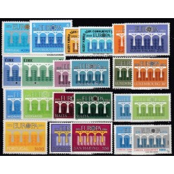 Set of stamps 1984. 25th...