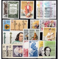 Set of stamps 1985....
