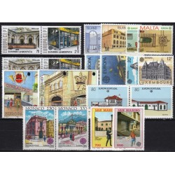 Set of Stamps 1990. Post...