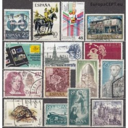 Spain, Set of used stamps III