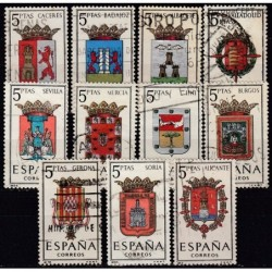 Spain, Set of used stamps IV