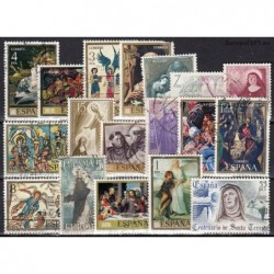 Spain, Set of used stamps XI