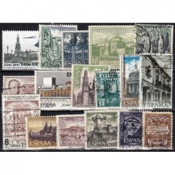 Spain, Set of used stamps XIX