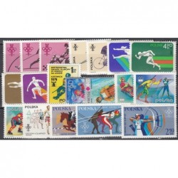 Poland, Set of new stamps...