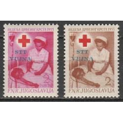 Yugoslavia 1953. Red Cross...