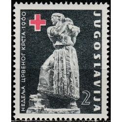Yugoslavia 1960. Red Cross...