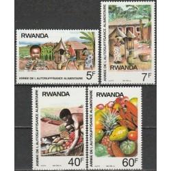 Rwanda 1987. Food, fruits