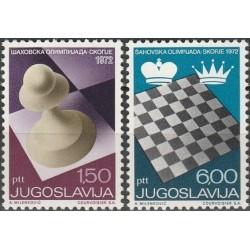 Jugoslavija 1972. Šachmatai