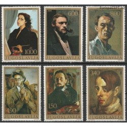 Yugoslavia 1977. Paintings