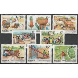 Ruanda 1985. Žemės ūkis ir...