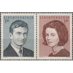 Lichtenšteinas 1967. Princo...