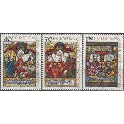 Liechtenstein 1979. Coats...