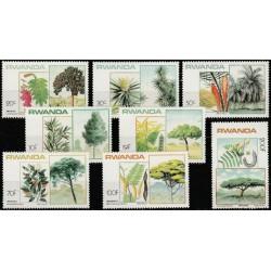 Rwanda 1984. Trees