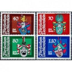 Liechtenstein 1981. Coats...