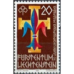 Liechtenstein 1981. Scout...