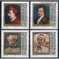 Liechtenstein 1981. Writers