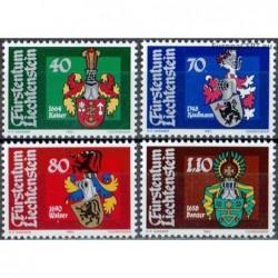 Liechtenstein 1982. Coats...