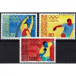 Liechtenstein 1984. Olympic...