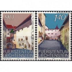 Lichtenšteinas 1987. Vaduzo...