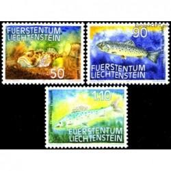 Liechtenstein 1987. Fishes