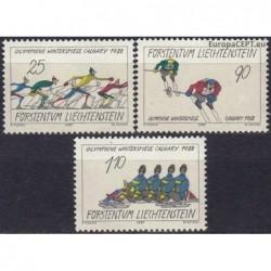 Liechtenstein 1987. Winter...