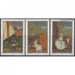 Liechtenstein 1988. Paintings