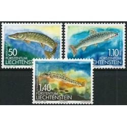 Liechtenstein 1989. Fishes