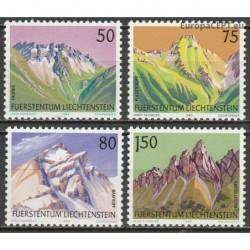 Liechtenstein 1989. Mountains