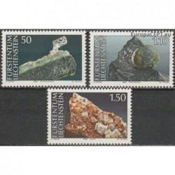 Liechtenstein 1989. Minerals