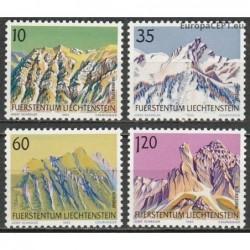 Liechtenstein 1990. Mountains