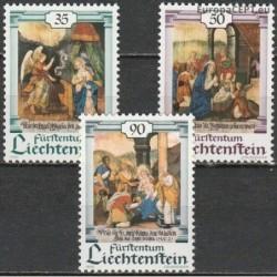 Lichtenšteinas 1990. Kalėdos