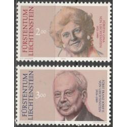 Liechtenstein 1990. Franz...