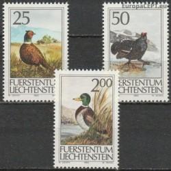 Liechtenstein 1990. Birds