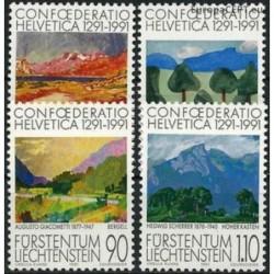 Liechtenstein 1991. 700th...