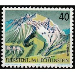 Liechtenstein 1991. Mountains