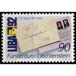 Liechtenstein 1991....