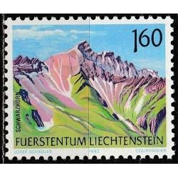 Liechtenstein 1992. Mountains